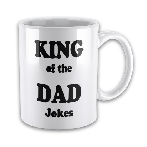 King Of The Dad Jokes Funny Novelty Gift Mug